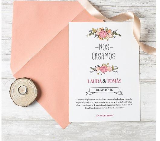 La importancia de las invitaciones de boda