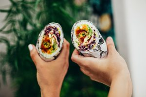 comida rapida vegetariana banquete vegetariano grupo esgo