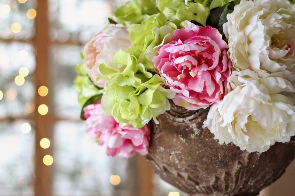 grupo esgo centro de mesa floral