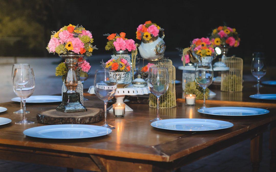 Aprende como elegir los centros de mesa según la ocasión